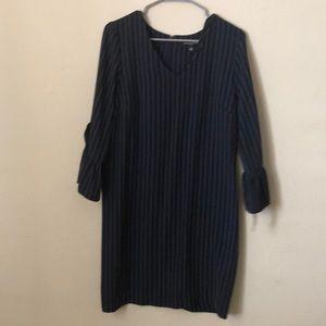 New Navy  pin stripe dress